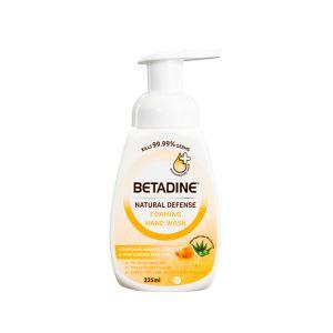 Betadine Natural Defense Foaming Hand Wash Moisturizing Manuka Honey 225ml