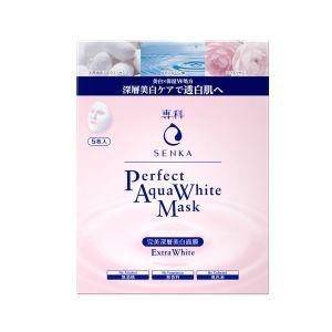 Senka Perfect Aqua White Mask Extra White (5pcs)