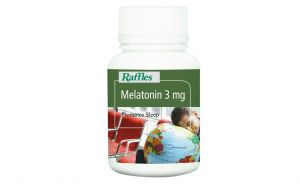 Raffles Melatonin 3mg (100 Tablets)