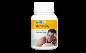 Raffles Men's Vitality (60 Tablets + 30 Free)