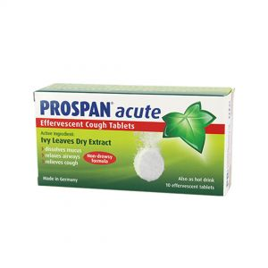 Prospan Acute Effervescent Cough Tablets 10s
