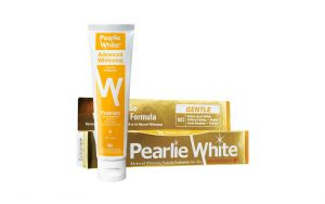 Pearlie White Advanced Whitening Fluoride Toothpaste 130g