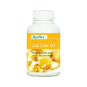 Raffles Cod Liver Oil (180 Softgels)