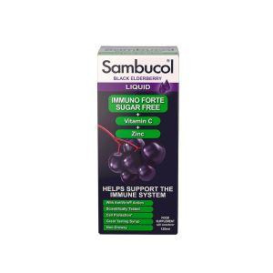 Sambucol Immuno Forte Sugar Free (UK Version), 120ml