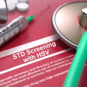 STD Standard Screening with HSV