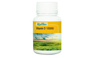 Raffles Vitamin D 1000IU (90 Softgels)